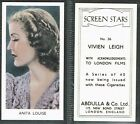 Abdulla - Screen Stars (no clause) 1939 #1 to #40 Film/Movie (from 99p each)
