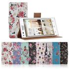 Flip PU Leather Retro Floral Wallet Purse Case Cover Stand For Huawei Ascend G6