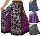 @U460 INSET SKIRT BOHO BATIK BELT MAXI S M L XL 1X 2X 3X 4X 5X 6X MADE TO ORDER