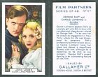 Gallaher - Film Partners 1935 #1 to #48 UK Movie Tobacco Cards (£0.99 each)