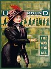 4022.Underground lady in waiting in subway classic.POSTER.Home School art decor