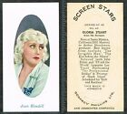 Phillips - Screen Stars Set B (Embossed) 1936 #1 to #48 Movie (from £0.99 each)
