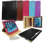 Leather smart Media Stand Case Cover skin folio book for apple samsung tablets