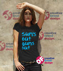 Suns out guns out Tshirt Ladies Fitted 22 Jump Street Bright Luxury soft tshirt