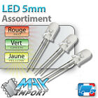 LED 5mm - Assortiment : rouges + vertes + jaunes - Clear ( Compatible Arduino )
