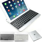 Aluminum Bluetooth Keyboard Stand Case Cover for iPad Air 4 3 Mini 2 w / Retina