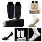 Men Women 3 6 12 Pairs Loafer Boat Liner No Show Low Cut Cotton Socks 9-11 10-13