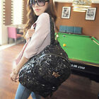 NEW Women Bakcpack embroidered sequined crown school bag-backpack 2359