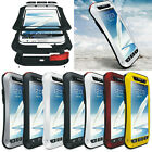 LOVE MEI Aluminum Metal Shock / Water Proof Case For Samsung Galaxy Note 2 N7100