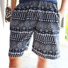 Mens Floral Print Swim Shorts - Beach Surf Board Shorts Pants Size L XL XXL