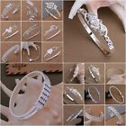 New Wholesale Fashion XMAS Gift Jewelry Solid 925Silver Lady Bangle/Bracelet+Box