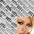 10 Pairs Natural OR Thick Fake False Eyelashes Eye Lashes Make Up