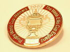 England Rugby Winners Webb Ellis Cup 2003 Collector pin Mint condition