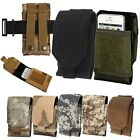 Universal Army Camo Bag For Mobile Phone Hook Loop Belt Pouch Holster Cover Case