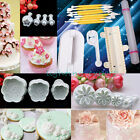 Cake Decorating Fondant Cutter Sugarcarft Smoother Icing plunger pastry tools