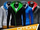 New 2014 UK Men's Hoodie Jumper Sweatshirt Outwear OMBRE CLOTHING Primo 6COLOURS