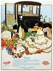 6181.Rauch & land electrics.baker electric.vintage car.POSTER.Home Office art
