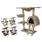 FoxHunter Kitten Cat Tree Scratcher Post Sisal Toy Activity Centre Bed CAT001
