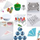 Mix Disposable Piping Bags Cupcake Nozzles Fondant Cake Decorating Tip Mold Tool