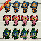12-60pcs Team Umizoomi Go PVC Shoe Charms Shoe Accessories Kids Party Gift/Favor