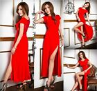 2014 WOMENS LACE EVENING COCKTAIL PARTY BRIDESMAIDS BODYCON MAXI DRESS SIZE 8-18