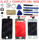 Vetro Touch screen + Display LCD per iPhone 4 4S BIANCO AAA+ come originale