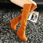 Winter Fashion Womens wedges Heel thick platform over knee high riding boots