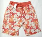 UNIQLO MEN PRINTED SHORT PANTS RED (077257)