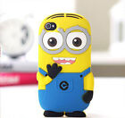 Despicable Minion Soft Silicon Case+screen protector for iPhone 5 5s