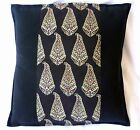 """Cushion Covers 16""""x16"""" Indian Embroidered Patchwork / Mirror work"""