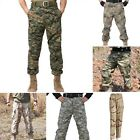 Soldier Outdoor Training Pants Men Camouflage U.S. Combat Straight Trousers R106