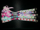 personalised dummy soother pacifier clip holder string chain