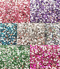 600 x 2mm Sparkling Rhinestones Acrylic Decoden Embellishments Craft Nail Art