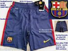 S M L XL XXL NIKE FC BARCELONA HOME SHORTS 2012-13 football soccer calcio New