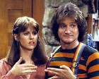 ROBIN WILLIAMS AND PAM DAWBER 12 (MORK AND MINDY) CAST PHOTO PRINT