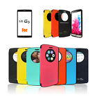 Quick Window View Auto On-off Flip Magnet Lock Bumper case for LG G3