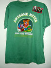 NEW Med MUPPETS T SHIRT by DISNEY GONZO  FOSSIE BEAR & KERMET AWESOME METER