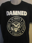 THE DAMNED RAMONES SEAL SHIRT punk sex pistols stranglers ruts ALL SIZES