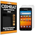 6X COMBAT HD Screen Protector Cover For Samsung Galaxy Player 5.0