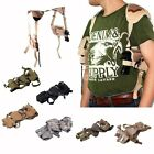 Multicolor Ambidextrous Pistol Shoulder Holster w/ Double Magazine Holder #USA