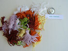 Collana small cushion/key Tassels x 4 - lilac, orange, lime, lemon, wine, white
