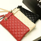 Women's Fashion Faux Leather Purse Popular Clutch Bag Money Clip Wallets DP186