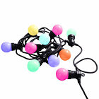 Colour Changing Globe Festoon Big Bulb Christmas Party BBQ LED Light String 40cm