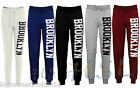 Womens Ladies Jogging Bottoms Joggers Track Pants Brooklyn Gym Sweat Trousers