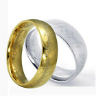 Vintage stylish copper Film The Lord of the Rings Gold Plated Ring