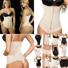 Faja Colombiana 5003, Control Body-Thong Shaper With Zipper, Firm Compression