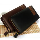 New Men's Faux Leather Long Wallet Money Clip Card Holder Pocket Purse ZC0003