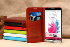 High Quality Leather Stand Case Cover House for LG G3 (2014 version)
