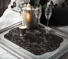 Heritage Lace Heritage Damask Placemat or Doily, 14x20 3 Colors, Pick 1 or Set