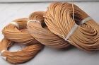Natural color Genuine round Leather cord Cowhide Thread 1MM 1.5MM 2MM 3MM-6MM-